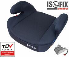 NEU! Kindersitzerhöhung Isofix Auto Schwarz Gruppe 3 22-36 KG 7 Jahre Kindersitz