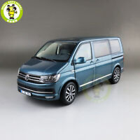 1/18 NZG VW Volkswagen Multivan T6 Diecast Metal CAR MODEL Toys Kids gift Blue