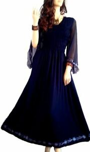 New LYLA Romantic Sexy Long Maxi Dress Party Gown Holiday Elegant 12 14 16 18 20
