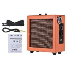 Battery Powered Mini Guitar Bass Ukulele Ukelele Amp Amplifier Speaker B9H2