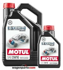 Aceite motores hibridos gasolina, Motul HYBRID 0W16 Toyota, pack 5 litros