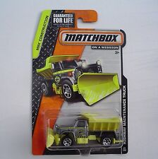 Highway Maintenance SNOW PLOW Truck 33/120 MBX Construction 2014 NEW in Package!