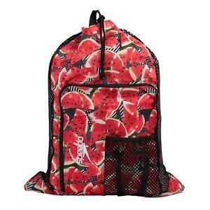 Speedo Deluxe Ventilator Mesh Bag. 35 Litre Mesh Swimming Bags.MUTIPLE COLOURS