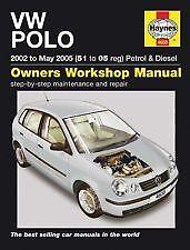 Haynes propietarios + Taller de coche Manual Vw Polo Gasolina + Diesel (02 - 05 de mayo) h4608