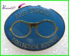 Pin's Monture lunette Pour Enfant Collection Boubou Bleue #H1