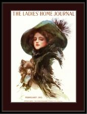 Ladie's Home Journal Print Pomeranian Dog Art Picture