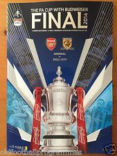 2014 FA CUP FINAL PROGRAMME *ARSENAL V HULL CITY* (17/05/2014)