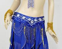 New Belly Dance Costum Handmade Hip Scarf Belt 8 Colors