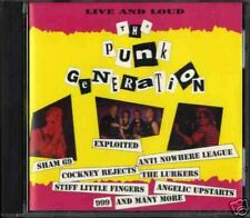 THE PUNK GENERATION Live and loud (CD NEW)