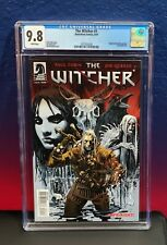 The Witcher #1 CGC 9.8 NM+/MT 1st Print Dark Horse Comics Netflix Series Cavill