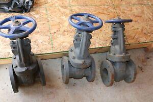 "NOS Nibco IBBM 3"" gate valve Fig. No. F-617-0 FREE SHIPPING 125 SWP 200 WOG"