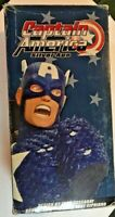 Captain America Silver Age Bust Cassaday statue Marvel Avengers MIB