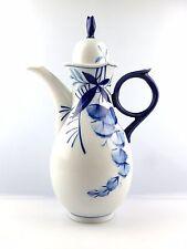 #e5253 Meissen Caffè Brocca 1. scelta robinie Cobalto Blu SPECIALE EDITION 2000