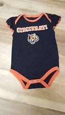 3 Cincinnati Bengals Toddler Girls 6-9M One Piece (1)Orange, (1)Black, (1)Grey