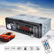 1 DIN Stereo 12V FM Autoradio SD/USB/AUX Bluetooth Remote Head Unit MP3 Player