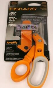 """Fiskars Amplify RazorEdge Fabric Scissors 6""""- NEW"""
