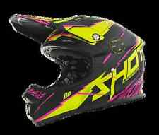 Casque shot FURIOUS - INFINITY - LIME/ROSE MAT - XS - streetmotorbike