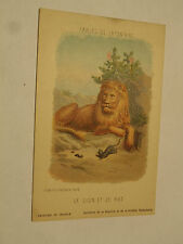 CPSM Fables de Lafontaine le Lion et le Rat