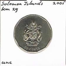 Solomon Islands 50 cents 2005 UNC - KM29 (ml015)