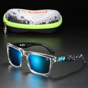 Spy Polarized Sunglasses Men Classic Square Unisex Ken Block With Original Box
