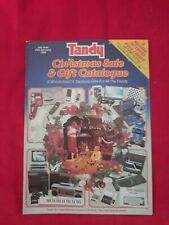 More details for rare tandy christmas sale & gift catalogue 1985 vintage computing electronics