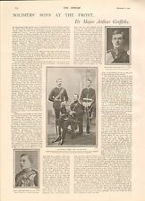 1900 ANTIQUE PRINT- SOLDIERS' SONS AT THE FRONT