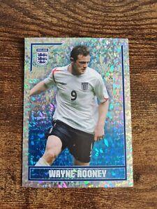 New Rare Wayne Rooney Merlin England World Cup 2006 Large Foil Sticker Mint
