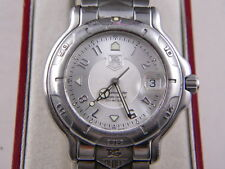 Tag Heuer 6000 Mens SS Automatic Chronometer Certifed watch Good Condition