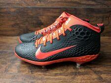 Nike Force Zoom Trout 5 Men's Size 12.5 Baseball Cleats AH3373-080 Black Orange