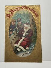 Vintage Santa Christmas Card Germany