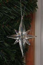 Real Glass Nativity Bethlehem STAR Ornament SNOWSTAR House of Marble Beautiful!