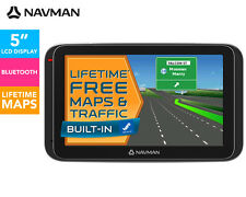 "Navman MY400LMT 5"" GPS Navigator Touch screen Bluetooth Free Lifetme Maps"