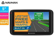 "Navman MY400LMT 5"" GPS Navigator Touch screen Bluetooth Free Lifetme Maps"