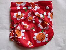 New Daisy Flower Cloth Diaper Cover Double Gusset FlipThirstieBummis PUL EB