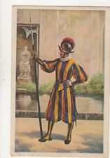 Guardia Swizzera Tenuta Di Mezza Gala Italy 1934 Postcard 918a