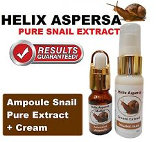 (Celltone) Aspersa Helix Ampoulle Baba de Caracol Esence 15ml and Cream 30ml