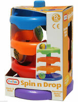 Fun Time Spin n Drop Ball Runner Toy Baby Toddler Activity Age 12 Months + New