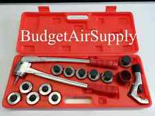 "14 PC -11 HEADS MANUAL Copper Tube  Expander Up to 1 5/8"" OD HVAC, Hydraulic RED"