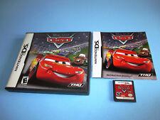 Cars Disney Pixar (Nintendo DS) Lite DSi XL 3DS 2DS Game w/Case & Manual