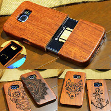 100% Real Natural Wooden Wood Bamboo Phone Case Cover for Samsung GALAXY Note 9
