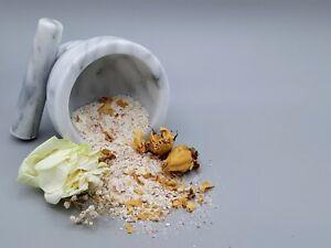Rose & Lavendar Handmade Herbal Bath Salt Soak 5 Oz Stress Relief & Calming