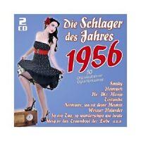DIE SCHLAGER DES JAHRES 1956  (PETER ALEXANDER/LOLITA/PAUL KUHN/+)  2 CD NEU