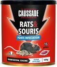 Caussade Piège Appâts Rat et Souris 15 Pâtes Appât prêt à l'emploi Cuisine FR