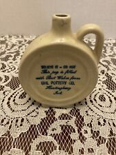 Vintage UHL Pottery Believe It Or Not Christmas Canteen Mini Jug