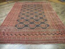 Vg Dy Antique Kazak Qashqai Turkeman Viss Serapi Heriz 6.3x8.6 Estate Sale Rug