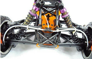 Front hydraulic brake system for HPI KM Rovan Baja 5b SS 5T 1/5 rc car gas