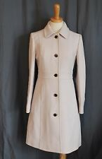 J CREW DOUBLE CLOTH LADY DAY COAT THINSULATE ANTIQUE LINEN 12 NEW 49622 $355