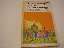Vintage 1966 Paperback The Mystery of the Burnt Cottage by Enid Blyton