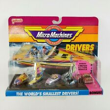 Micro Machines 6400 Drivers Collections Boating Collection #2 Galoob Vtg 1991
