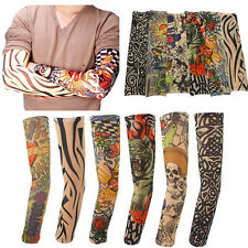 Arm Tattoo Sleeve Stickers Large Flower Shoulder Fake Tattoos Body Paint  iidd
